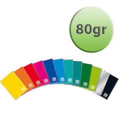 Immagine di Quaderno A4 One Color riga unica senza margine 80gr